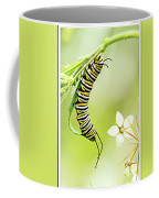 Caterpiller On Plant Coffee Mug