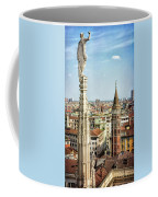 Cathedral And Campanile Milan Italy Coffee Mug