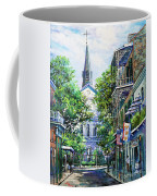 Cathedral At Orleans Coffee Mug