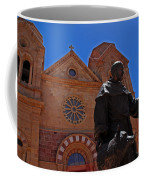 Cathedral Basilica In Santa Fe Coffee Mug