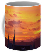 Cathedral Church Sunset Coffee Mug