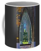 Cathedral Columns Of The St. Johns Bridge Coffee Mug