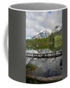 Cathedral Group Reflection On String Lake Coffee Mug