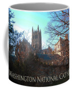 Cathedral In The Fall Travel Coffee Mug