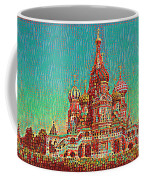 Cathedral Of St. Basil, Moscow Russia Coffee Mug