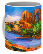 Cathedral Rock Afternoon Coffee Mug by Elise Palmigiani