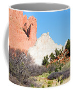 Cathedral Rock In Garden Of The Gods Park Coffee Mug