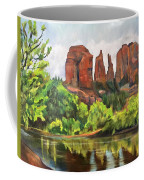 Cathedral Rocks In Crescent Moon Park Coffee Mug