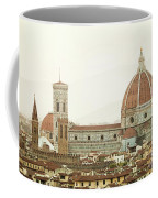 Cathedral Santa Maria Del Fiore At Sunset, Florence. Coffee Mug