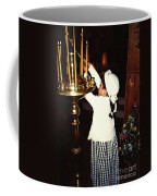Catherine Lighting Candles Coffee Mug