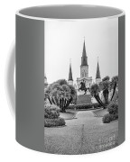 Catholic Basilica Jackson Sq Andrew Jackson New Orleans  Coffee Mug