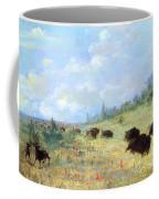 Catlin: Elk & Buffalo Coffee Mug