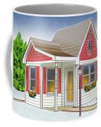 Catonsville Santa House Coffee Mug