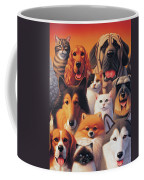 Cats And Dogs  Coffee Mug