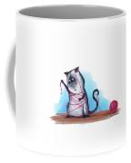 Cat's Cradle, Kitty Style Coffee Mug