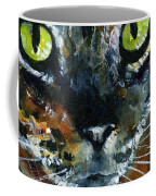 Cats Eyes 16 Coffee Mug