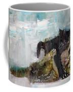Cats Fighting Coffee Mug