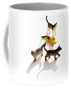 Cats Figurines Coffee Mug