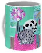 Cats In Spring Coffee Mug