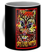 Cats Lives Matter Coffee Mug