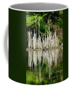 Cattail Reflection Coffee Mug