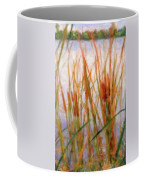 Cattails By The Lake Coffee Mug