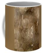 Cattails In Snowstorm 5 Coffee Mug