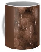 Cattails In Snowstorm 8 Coffee Mug