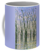 Cattails In The Lake Coffee Mug