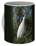 Cattle Egret Pose Coffee Mug
