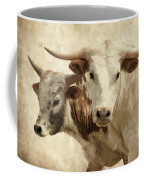 Cattle Steers Coffee Mug
