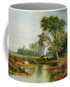 Cattle Watering Coffee Mug