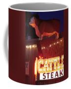 Cattlemen's Neon Stock Yards Coffee Mug