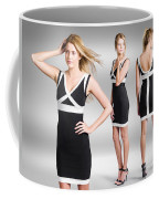 Catwalk And Runway Model At Fashion Week Coffee Mug