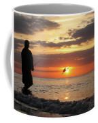 Caught At Sunset Coffee Mug
