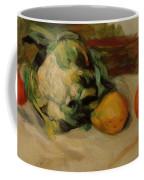 Cauliflower And Pomegranates Coffee Mug
