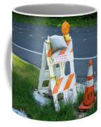 Caution, Road Work Coffee Mug