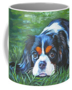 Cavalier King Charles Spaniel Tricolor Coffee Mug by Lee Ann Shepard