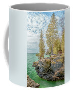 Cave Point Bluffs 2 Coffee Mug