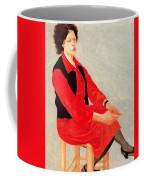 Cawpq3cp Avigdor Arikha Coffee Mug