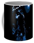 Cdb Winterland 12-13-75 #11 Enhanced In Blue Coffee Mug