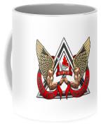 C.d.c.r. Crisis Response Team - C.r.t. Patch Over White Coffee Mug
