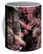 Cedar Creek Grist Mill Soft Burgundy Coffee Mug
