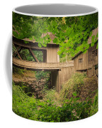 Cedar Creek Mill And Covered Bridge Coffee Mug