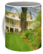 Cedar Grove In Spring Coffee Mug
