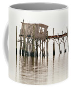 Cedar Key Structure Coffee Mug by Patrick M Lynch