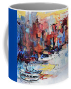 Cefalu Seaside Coffee Mug by Elise Palmigiani
