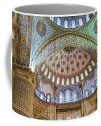 Ceiling Of Blue Mosque Coffee Mug