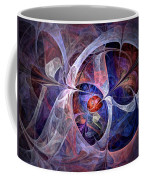 Celestial North - Fractal Art Coffee Mug