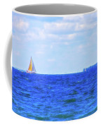 Celestial Skies Sailing The Blue Coffee Mug